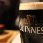Pint of Guinness on the bar - Hope Eden Racing Limited.